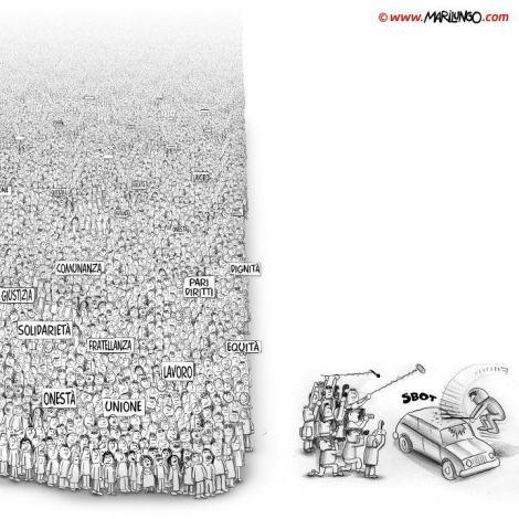 Quais serão os reais interesses escondidos por trás da exaltada bandeira balançada pela grande mídia?