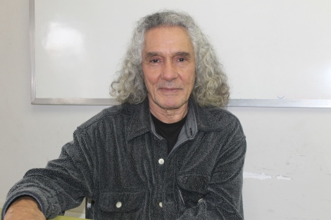 Sérgio Santeiro, professor de cinema da UFF, tem 16 curtas na carreira/ por Daniela Reis