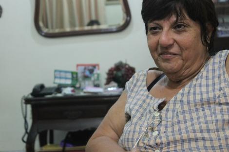Rosane Lemos prefere morar em casa e tem apego ao imóvel em que mora desde criança/ foto Mariana Ghetti