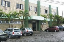 O antigo Hospital Municipal Nossa Senhora de Nazareth, em reformas desde 2009 (Fotografia: Lucas Raposo)