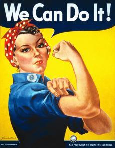 """""""Sim, nós podemos fazer isso"""". Foto: Imagem da Internet"""
