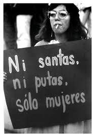 Nem santas, nem putas, somente mulheres. Foto: Imagem da Internet