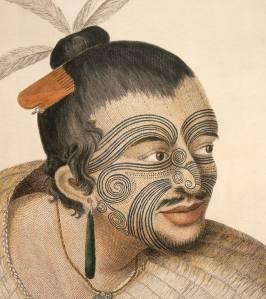 Tribos do Taiti tinham o corpo todo coberto por tatuagens
