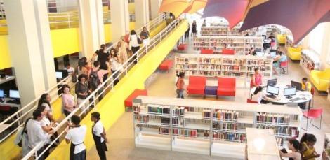 Biblioteca de Manguinhos  trabalha com o conceito de biblioteca parque