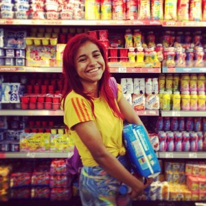 """""""Mademoiselle Yogurt"""", Copacabana — 2013"""