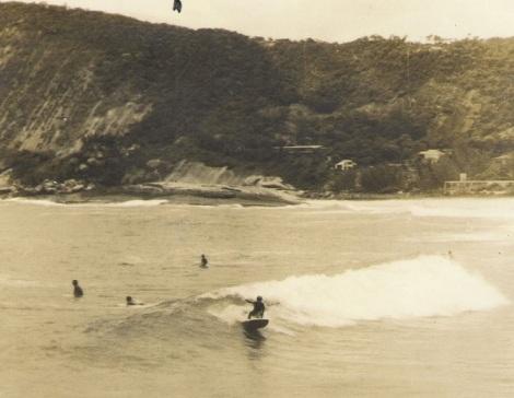 Morro das Andorinhas na década de 70.