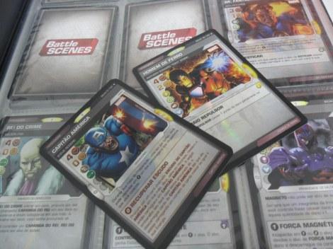 Battle Scenes: um dos muitos card games
