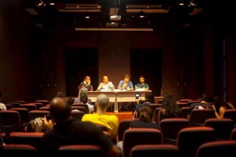 Debate do Canal da Cidadania que ocorreu no IACS / Foto Wesley Prado