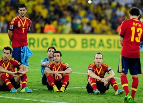 A geração de ouro da Espanha tentando digerir o seu maior fracasso (Foto: Agência Brasil)