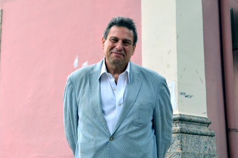 Professor Richard Peña no IACS