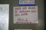 Cartaz no Col. Pinto Lima