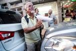 Cidadão apoiando Ato Unificado em Niterói