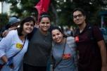 Professores em Ato Unificado em Niterói - LudmilaGama, Natalia Pereira, Marta Nobre e Igor Mattos